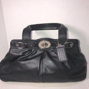 Really Unique Leather Coach Shoulder Bag